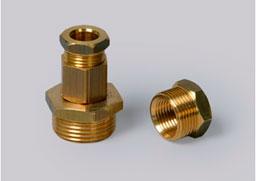 муфта для ввода нагревательного кабеля в трубу