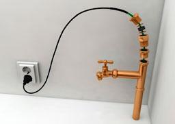 комплект для защиты труб от замерзания